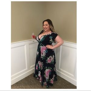 Designer gown. Eliza J from Bloomingdales